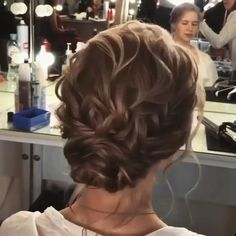 Short Hair Updo, Curly Hair Tips, Curly Updos For Medium Hair, Mother Of The Groom Hairstyles, Mother Of The Bride Hair, Wedding Hair And Makeup, Hair Makeup, Short Wedding Hair, Hair Up Styles