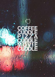 I need lots off cuddles...
