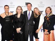 Opening Night at Dubai's JW Marriott Marquis with Donna Karan