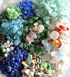 Lovely collection of genuine sea glass
