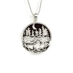 Nature Jewelry For Women Unusual Nature Necklace Sterling