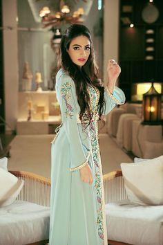 Moroccan caftan Designer based in Dubai, when Fashion meets Tradition سلمى بنعمر ,قفطان ,مغربيات ,الجلاييات المغربية