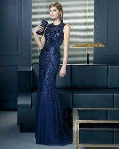 Resultado de imagen de vestidos de elegantes largos 2016 tendencias