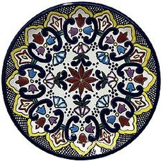 Dinnerware Pattern 22 ♥️♣️♣️Talavera Mexican Pottery : More At FOSTERGINGER @ Pinterest 🔷🔹♣️