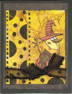 Halloween bird - Scrapbook.com