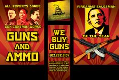 "Obama is ""Firearms Salesman of the Year."" - http://theconspiracytheorist.net/2014/02/24/commentary/obama-is-firearms-salesman-of-the-year/"