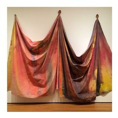 "We are celebrating Easter in New York and enjoying this piece of art by American Sam Gilliam ""drapings"". #pejtrend #pejgruppen #future #samgilliam #textile #art #crafted"