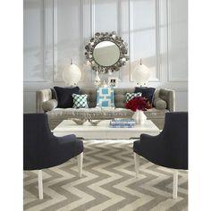 Gray and blue, geometric patterns