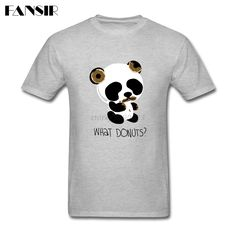 >> Click to Buy << Plus Size Guilty Panda Screen Printing T-shirt Man Short Sleeve O Neck Men T Shirt Adult Clothes #Affiliate