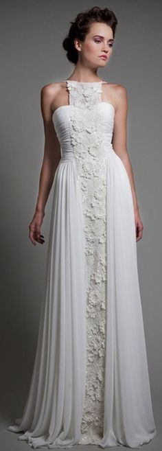 Tony Ward 2013 ♥✤ | Keep the Glamour | BeStayBeautiful.... amazing detail... CROCHET AND TRICOT INSPIRATION: http://pinterest.com/gigibrazil/crochet-and-knitting-lovers/