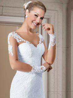 Vestidos de noiva - Coleção Callas (7) Detalhe frente