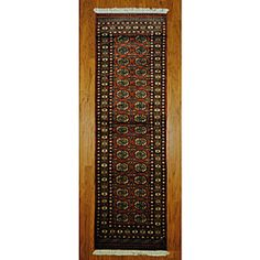 @Overstock - Accent your home decor with a striking area rug from Pakistan. This hand-knotted Bokhara rug is a unique piece of world art that will add to your living space with its geometric pattern of rust and ivory.http://www.overstock.com/Worldstock-Fair-Trade/Pakistani-Hand-knotted-Rust-Ivory-Bokhara-Wool-Runner-27-x-8/5247673/product.html?CID=214117 $209.99