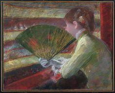 Mary Cassatt, In the Loge, c.1879.