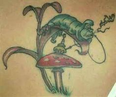 i want an Alice in Wonderland tattoo so bad! - i want an Alice in Wonderland tattoo so bad! You are in the right place about i want an Alice in Won - Wicked Tattoos, Badass Tattoos, Awesome Tattoos, Tattoos With Kids Names, Tattoos With Meaning, Tattoo Meanings, Alice And Wonderland Tattoos, Alice In Wonderland, Curiosity Tattoo