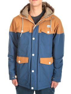 Insulaner Parka [steelblue] // IRIEDAILY Jackets Men // FALL/WINTER 2014: http://www.iriedaily.de/men-id/men-jackets/ #iriedaily