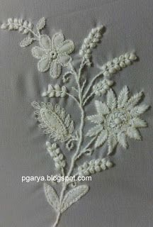 Let me talk little about chikankari embroidery stitches. In my previous post ,shared little bit information about Appli...