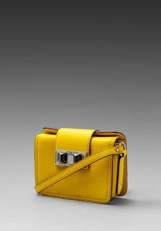 Rebecca Minkoff Mini Box in Sunny