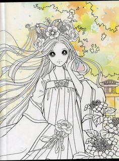 Die 1154 Besten Bilder Von Prinzessin Jap Manga Coloring Pages