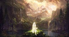 ArtStation - The Sleeping Green - Through Ages, Julian Bauer