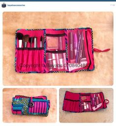 Ghana! Africa! Bayabs handmade makeup bag