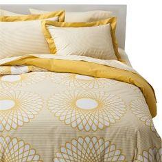 Room Essentails® Karagraph Duvet Cover Set Y... : Target Mobile - bedding sets