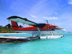 Malediven Wasserflugzeug im Malediven Reiseführer http://www.abenteurer.net/194-malediven-reisebericht/