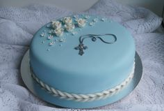 www.confetti.fi Confirmation Cakes, Diy Cake, Confetti, Food And Drink, Desserts, Baptism Cakes, Tailgate Desserts, Deserts, Kuchen