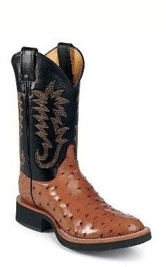 king ranch ostrich square toe boots king ranch cowboy