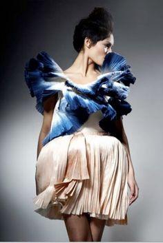 Pleats- Felicity Brown  A/W 2010
