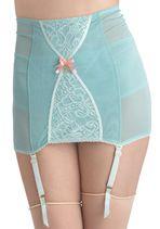 1950s Fashion - Wandering Thoughts Garter Skirt - Modcloth