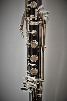 Alto Clarinet - keywork detail - (Buffet Crampon, 1962)