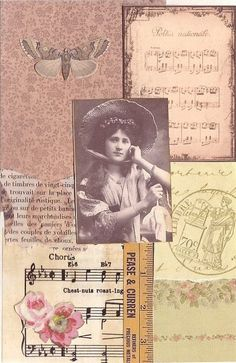 Jacqueline's Craft Nest: Glue book vintage