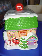 NEW M&M  CANDY SHOPPE COOKIE JAR MINT SEALED GALERIE