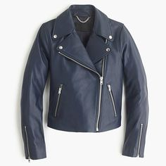 Collection leather motorcycle jacket - $550.00