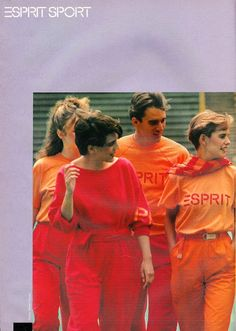 Esprit (ad from the 80's)