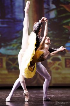Anastasia Kolegova and Denis Matvienko performing La Bayadère at Dance Open 2013. Photo by Stanislav Belyaevsky ♥ Wonderful! www.thewonderfulworldofdance.com