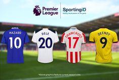 Premier League anuncia mudança de padrão no nome e numeração das camisas