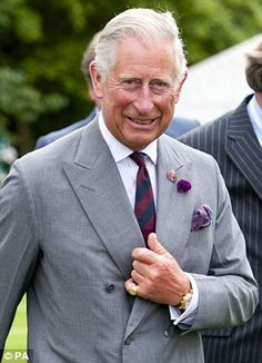 The four-man England team included Mark Tomlinson, who plays polo with Prince Charles's sons.
