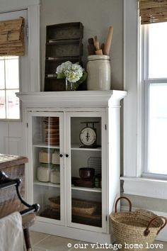 our vintage home love - cabinet