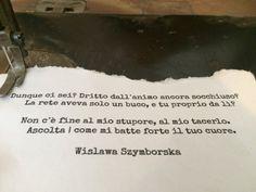 Ogni caso - Wislawa Szymborska