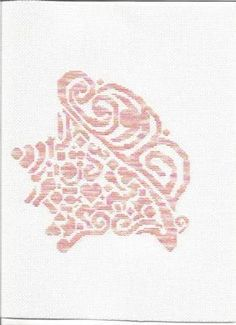 Tribal Conch Shell - Cross Stitch Pattern