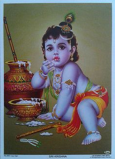Why is Sri Krishna Jayanti celebrated on two different days? Krishna will be smiling at his birthday celebrations, all these calendars and confusion created by it. Krishna in Bhagavad Gita asks us to rise above time, birth and death. Baby Krishna, Krishna Lila, Little Krishna, Cute Krishna, Krishna Art, Shree Krishna, Radhe Krishna, Krishna Statue, Bal Krishna Photo