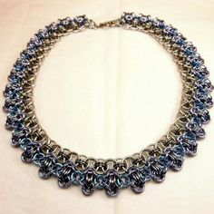 """Rondo choker can be made in any color combo and length you desire. Price is $75 for 18""""."""