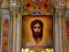 Holy Face of Jesus en la Catedral de San Patricio de Manhattan, Nueva York. Foto por Artur Coral, NOTICIAS AC-F /Ipitimes.com. Viernes Santo, 14 de abril de 2006. - Sitio Web de Semana Santa 2006 - Internacional Ipiales Nariño Colombia.