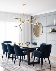 Agnes chandelier by Roll and Hill (available at Lindsay Adelman)