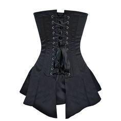Stella Overbust Corset Dress - Corset Deal