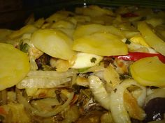Bacalhau em lascas com Batatas Mirandella