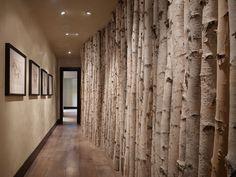 Tree columns; Montana Reclaimed Lumber