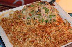 Baked Seafood Newburg