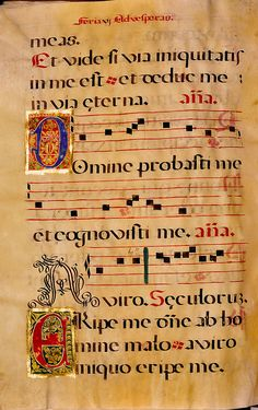 Spanish Chant Manuscript Page 163 by UBC Library Digitization Centre on Flickr.  Date Created: [between 1575 and 1625?]  Source: University of British Columbia Library - Rare Books and Special Collections